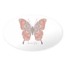 Kismet Butterfly Sticker (Oval)