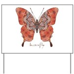 Kismet Butterfly Yard Sign