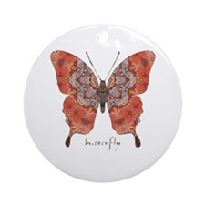 Kismet Butterfly Ornament (Round)