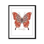 Kismet Butterfly Framed Panel Print