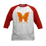 Rapture Butterfly Kids Baseball Jersey
