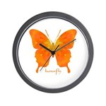 Rapture Butterfly Wall Clock