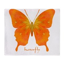 Rapture Butterfly Throw Blanket