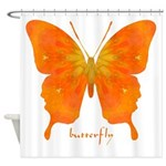 Rapture Butterfly Shower Curtain