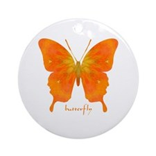 Rapture Butterfly Ornament (Round)