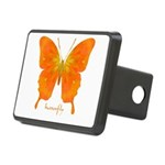 Rapture Butterfly Rectangular Hitch Cover