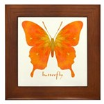 Rapture Butterfly Framed Tile