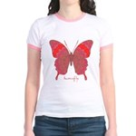 Sesame Butterfly Jr. Ringer T-Shirt
