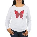 Sesame Butterfly Women's Long Sleeve T-Shirt
