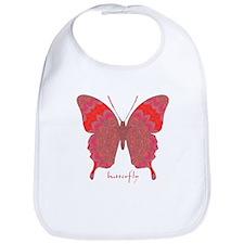 Sesame Butterfly Bib