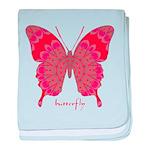 Sesame Butterfly baby blanket