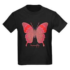 Sesame Butterfly Kids Dark T-Shirt