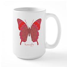 Sesame Butterfly Large Mug