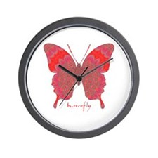 Sesame Butterfly Wall Clock