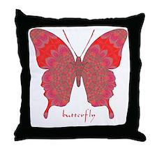 Sesame Butterfly Throw Pillow