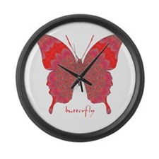 Sesame Butterfly Large Wall Clock