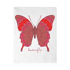 Sesame Butterfly Twin Duvet
