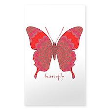 Sesame Butterfly Sticker (Rectangle)