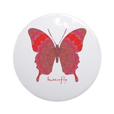 Sesame Butterfly Ornament (Round)