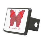 Sesame Butterfly Rectangular Hitch Cover