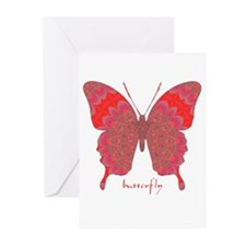 Sesame Butterfly Greeting Cards (Pk of 10)