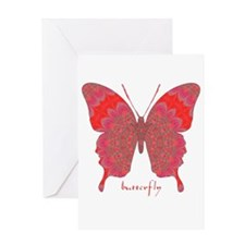 Sesame Butterfly Greeting Card