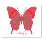 Sesame Butterfly Small Poster