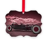 Hot Rod at Bonneville Picture Ornament
