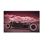 Hot Rod at Bonneville Rectangle Car Magnet