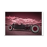 Hot Rod at Bonneville Car Magnet 20 x 12