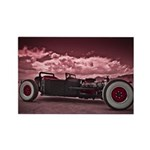 Hot Rod at Bonneville Rectangle Magnet (100 pack)