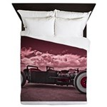 Hot Rod at Bonneville Queen Duvet