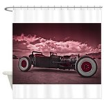 Hot Rod at Bonneville Shower Curtain
