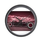 Hot Rod at Bonneville Wall Clock