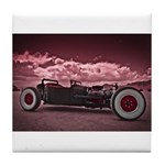 Hot Rod at Bonneville Tile Coaster