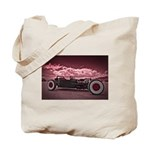 Hot Rod at Bonneville Tote Bag