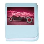 Hot Rod at Bonneville baby blanket