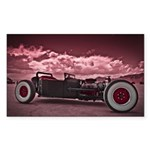 Hot Rod at Bonneville Sticker (Rectangle)