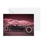 Hot Rod at Bonneville Greeting Card