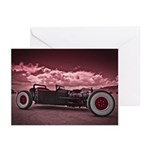 Hot Rod at Bonneville Greeting Cards (Pk of 10)