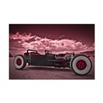 Hot Rod at Bonneville Mini Poster Print