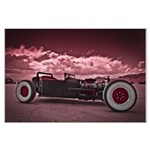 Hot Rod at Bonneville Large Poster