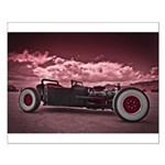 Hot Rod at Bonneville Small Poster