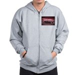 Hot Rod at Bonneville Zip Hoodie