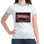 Hot Rod at Bonneville Jr. Ringer T-Shirt