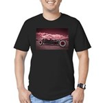 Hot Rod at Bonneville Men's Fitted T-Shirt (dark)