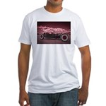 Hot Rod at Bonneville Fitted T-Shirt