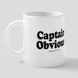 Captain Obvious -  Mug