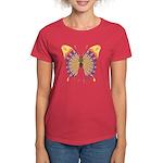 Quills Butterfly Women's Dark T-Shirt