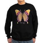 Quills Butterfly Sweatshirt (dark)